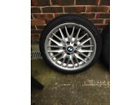 4x Bmw mv1 alloys & tyres 18in