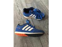 Kids adidas trainers size 10 excellent condition