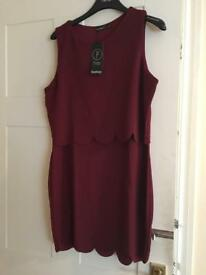 BRAND NEW WITH TAGS - Boohoo - Petite Dress - Size 14