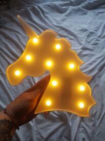 Unicorn night light