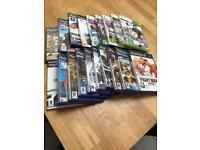 20 PS2 and XBox360 games