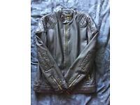 Kids faux leather jacket