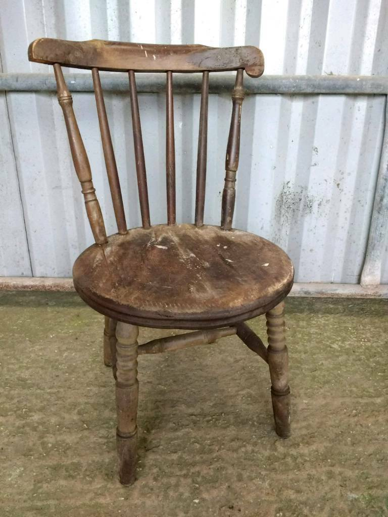 Vintage Old Wooden Chair In Honiton Devon Gumtree