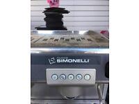 Nuova simonelli commercial coffe machine