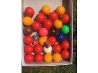 Snooker Balls and Accessories £5