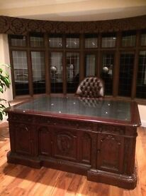A Replica Of The President's Resolute Desk