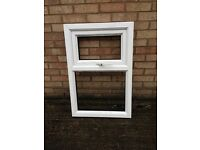 UPVC WHITE WINDOW FRAME ( NEW , NEVER BEEN FITTED )no glass
