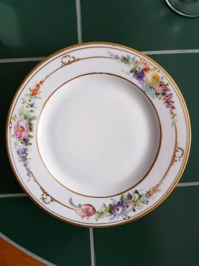 Antique cake plates
