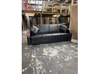 3 Seater New Leather Sofa Bed for sale cash on delivery order now