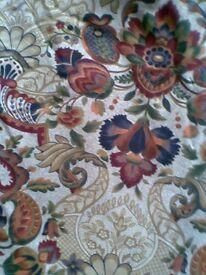 curtains pair (wide 320 cm each, drop 156 cm)