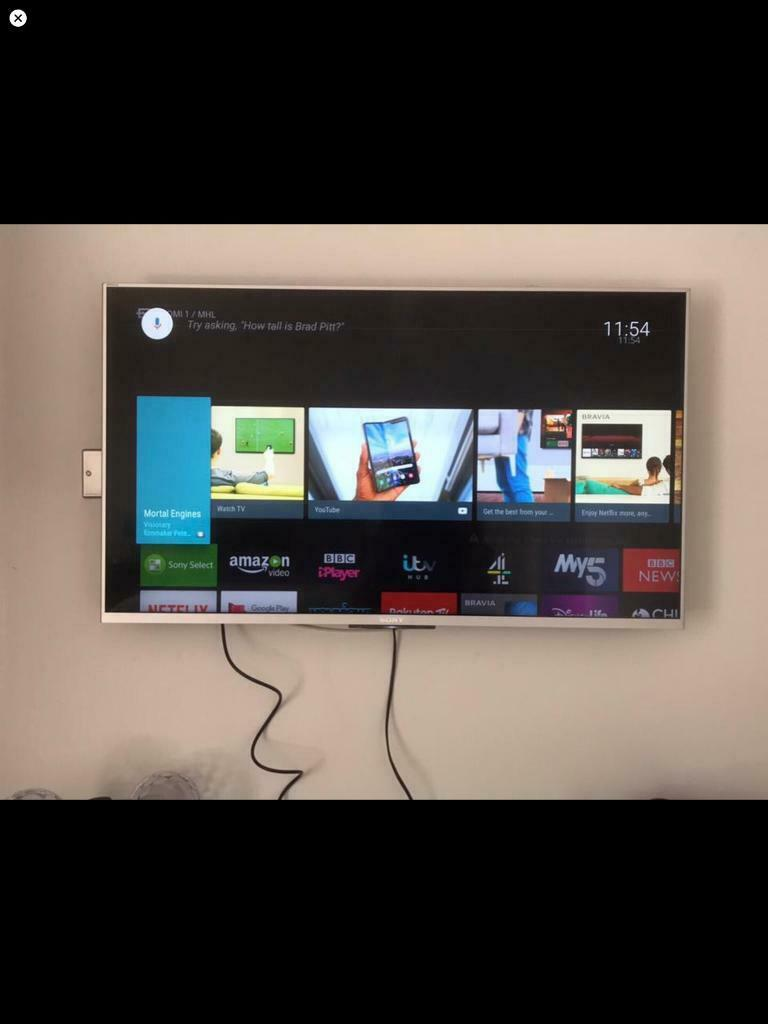 Sony Bravia Kdl-43w807c 1080p 3D Hd smart tv | in Southminster, Essex |  Gumtree