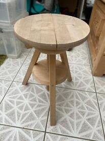 IKEA height adjustable stool