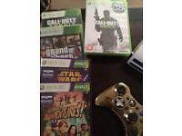Xbox 360 Star Wars with games £80