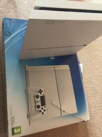PS4 Glacier White 500GB with 3 Controllers and 7 games Boxed
