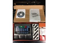 Digitech RP-350 modeling guitar processor with original box + packaging