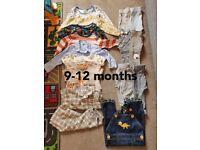 boy clothes bundle 9-12&12-18&18-24M