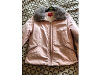 Elle ladies pink coat
