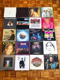 400 Vinyl Records Pop Music Collection Bob Dylan Marc Bolan Abba Elvis Beach Boys LP Joblot Job lot