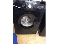 Swan 7 kg, 1400rpm Black Washing Machine - SW2070B