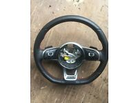 Volkswagen Golf GTI DSG steering wheel