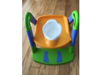 Super steady potty with handles, great for travelling