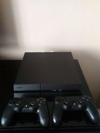 PLAYSTATION 4 500GB as new
