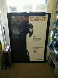 Poster & Frame - Scarface