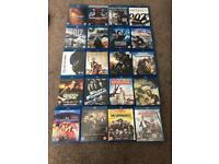 Blu ray movies.