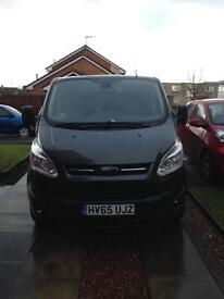 2015 FORD TRANSIT CUSTOM,LOW MILES,£16295