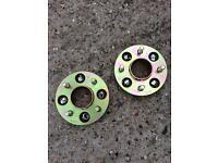 Ford Fiesta wheel spacers 24mm 4x108 alloy wheels