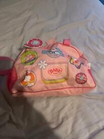 Baby Born Changing bag