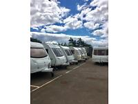2 - 5 berth Caravans for sale ALSO SECURE STORAGE