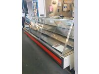 Meat counter 10ft long by 4ft wide