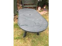 Large Heavy Duty garden table