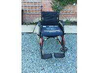 Roma Self Propelled Lightweight Wheelchair