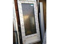 Brand new Pvc Door with pattern glass NEW
