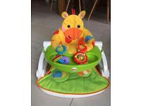 Fisher price giraffe baby seat