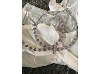 Lilac Pearl Wedding/Bride/Bridesmaid Headbands