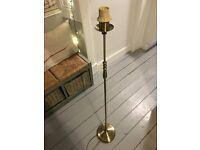 Brass Laura Ashley standard lamp/floor lamp base
