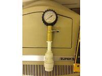 Central heating dry test pressure kit