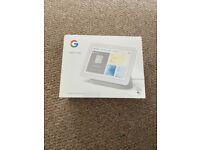 "Google Nest Hub 7"" Smart Display (Gen 2) - Chalk"