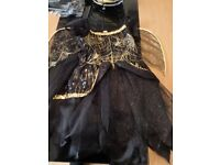 Girls Halloween Outfit Size 5-6 Yrs