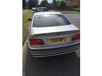 Bmw 320i, starts but cuts out. Could be simple fix. Sold as non runner