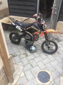 Superstomp 140cc big pitbike not a demon x