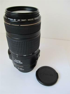 Canon EF 70-300mm f/4-5.6 IS USM Lens ****