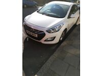 Hyundai i30. A great and reliable drive.