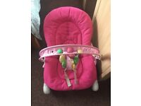 Chicco baby bouncer for sale