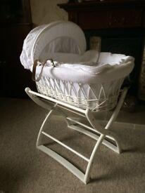 Baby Moses basket/crib