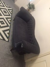 Victorian styled sofa
