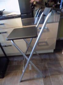folding breakfast bar chairs